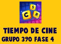 Tiempo de cine Grupo 390 Rompecabezas 4 Imagen