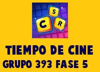 Tiempo de cine Grupo 393 Rompecabezas 5 Imagen