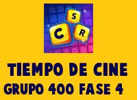 Tiempo de cine Grupo 400 Rompecabezas 4 Imagen