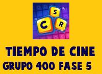 Tiempo de cine Grupo 400 Rompecabezas 5 Imagen