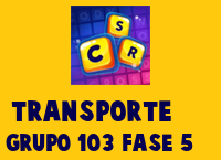 Transporte Grupo 103 Rompecabezas 5 Imagen