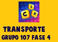 Transporte Grupo 107 Rompecabezas 4 Imagen