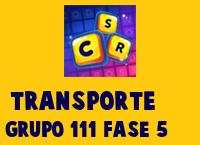 Transporte Grupo 111 Rompecabezas 5 Imagen
