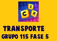 Transporte Grupo 115 Rompecabezas 5 Imagen