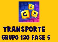 Transporte Grupo 120 Rompecabezas 5 Imagen