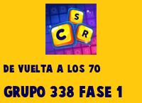 De vuelta a los 70 Grupo 338 Rompecabezas 1 Imagen
