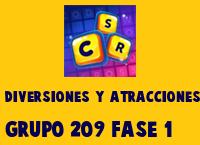 Diversiones y Atracciones Grupo 209 Rompecabezas 1 Imagen