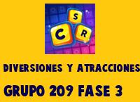 Diversiones y Atracciones Grupo 209 Rompecabezas 3 Imagen