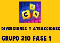 Diversiones y Atracciones Grupo 210 Rompecabezas 1 Imagen