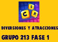 Diversiones y Atracciones Grupo 213 Rompecabezas 1 Imagen
