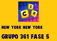New York New York Grupo 361 Rompecabezas 5 Imagen
