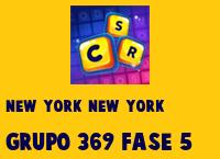 New York New York Grupo 369 Rompecabezas 5 Imagen