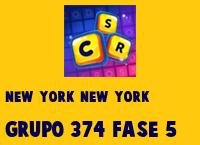 New York New York Grupo 374 Rompecabezas 5 Imagen