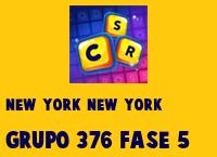 New York New York Grupo 376 Rompecabezas 5 Imagen