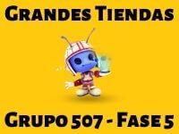 Grandes Tiendas Grupo 507 Rompecabezas 5 Imagen