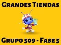 Grandes Tiendas Grupo 509 Rompecabezas 5 Imagen
