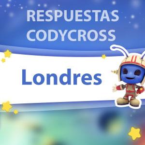 Respuestas Codycross Londres