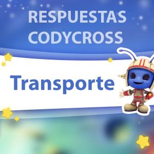 Codycross Transporte